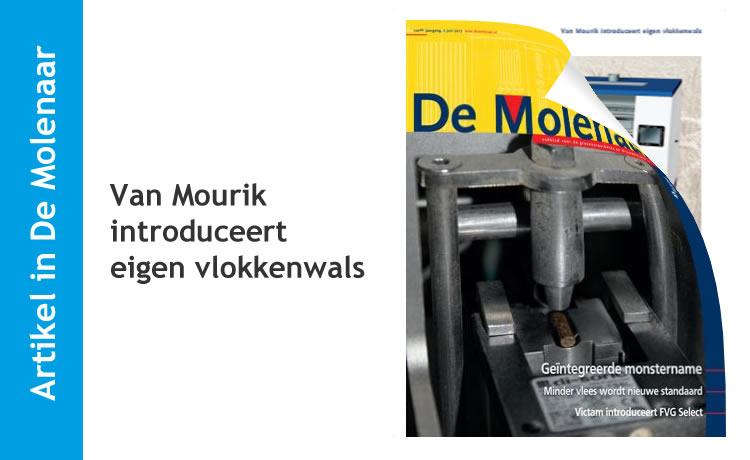 Van Mourik introduceert eigen vlokkenwals